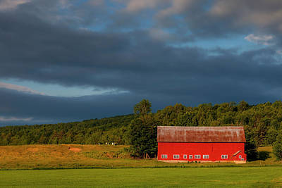 Photograph - Rural Vermont by Andrew Soundarajan