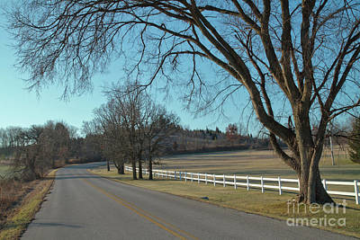 Photograph - Rural Wisconsin In Late Fall by Kevin McCarthy