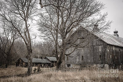 Photograph - Rural Wooden Structures by Joann Long