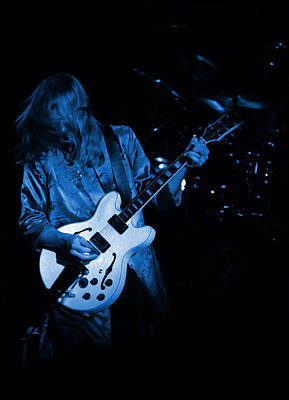 Photograph - Rush 77 #1 In Enhanced In Blue by Ben Upham