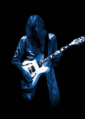 Photograph - Rush 77 #41 Enhanced In Blue by Ben Upham