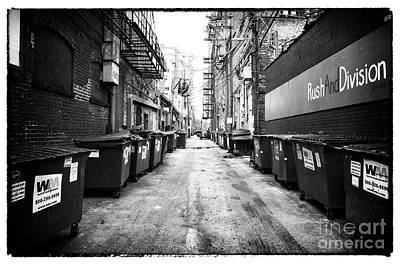 Photograph - Rush And Division by John Rizzuto