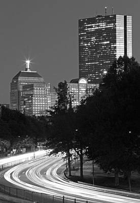 Photograph - Rush Hour Boston by Juergen Roth