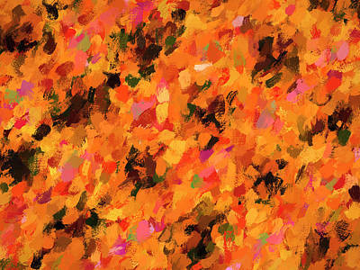 Marvelous Marble - Rush Hour Abstract by Francis Sullivan