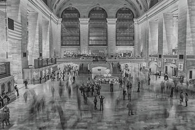 Terminal Photograph - Rush Hour Grand Central St by Martin Newman