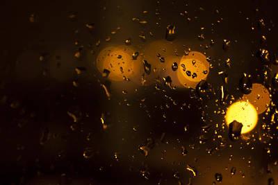 Rush Hour In The Rain Art Print by Stewart Scott