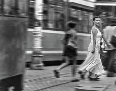 Photograph - Rush Hour In Zagreb by Don Wolf