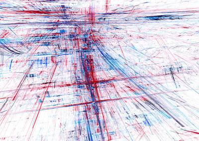 Digital Art - Rush Hour by Martin Capek