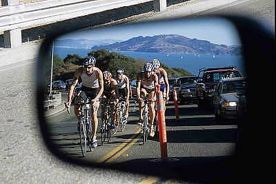 Triathalon Photograph - Rush Hour Traffic by Andrew Greene