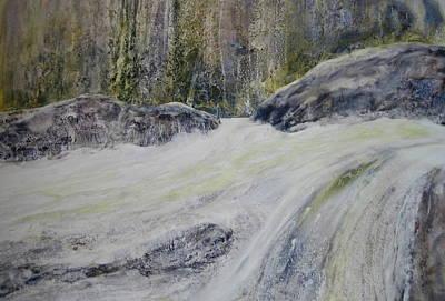 Wall Art - Painting - Rush II by Debra LePage
