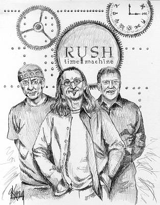 Drawing - Rush by Stan Kwong