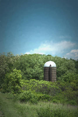 Photograph - Rushford Silo by Guy Whiteley