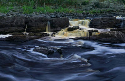 Photograph - Rushing By The Falls by Heidi Hermes