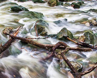 Photograph - Rushing High Waters  by Jay Blackburn