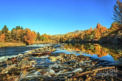 Photograph - Rushing Payette River by Robert Bales