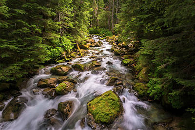 Photograph - Rushing River by Serge Skiba