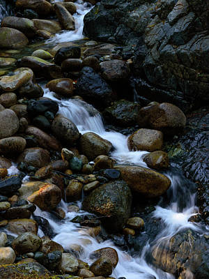 Photograph - Rushing Stream by Keith Boone