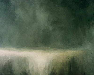 Field. Cloud Mixed Media - Rushing Water by Lonnie Christopher