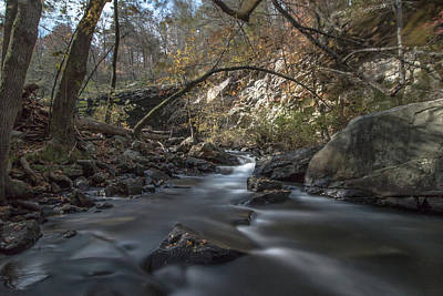 Photograph - Rushing Water by Mike Dunn