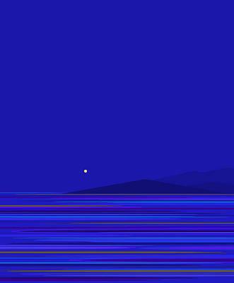 Digital Art - Rushing Water by Val Arie