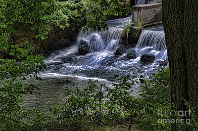 Photograph - Rushing Waters by Deb Halloran