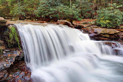 Photograph - Rushing Waters Of Decker Creek by Gene Walls