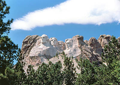 Photograph - Rushmore National Memorial by John Foote