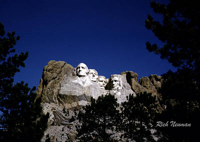 Photograph - Rushmore by Rich Neuman