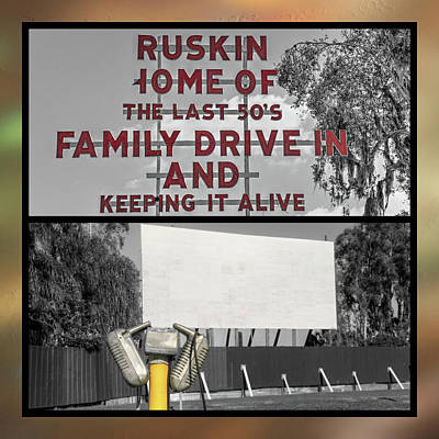 Photograph - Ruskin Drive-in by Donna Kennedy