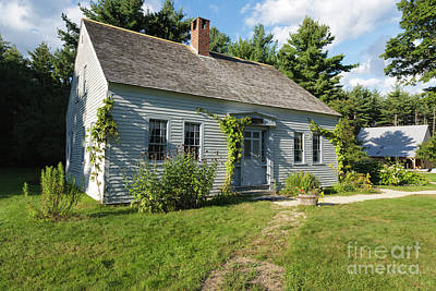 Photograph - Russell-colbath Homestead - Passaconaway Settlement, New Hampshire by Erin Paul Donovan