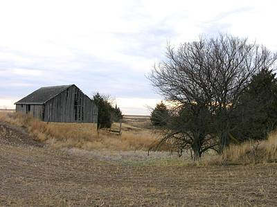 Photograph - Russell County Barn by Keith Stokes
