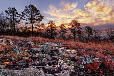 Photograph - Russell Mountain Sunrise by Robert Charity
