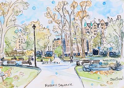 Russell Square Original by Shaina Stinard