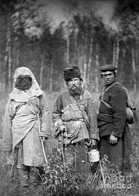 Photograph - Russia: Convicts, C1885 by Granger