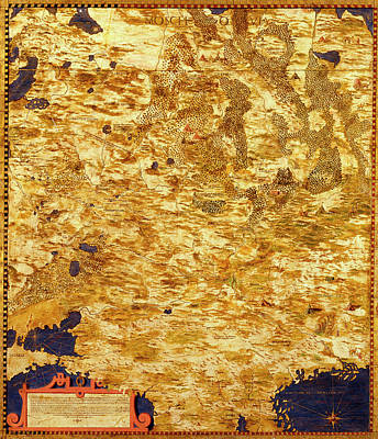 Sphere Painting - Russia by Italian painter of the 16th century