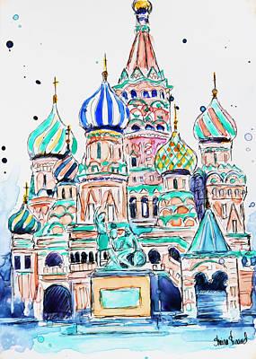 Russia, St. Basil Original by Shaina Stinard