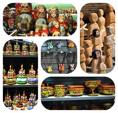 Photograph - Russian Crafts 1 by Jacqueline M Lewis