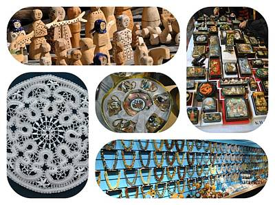Photograph - Russian Crafts 2 by Jacqueline M Lewis