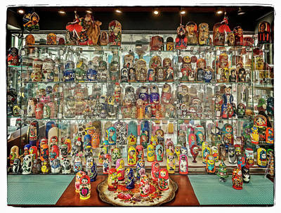 Photograph - Russian Dolls #2 by Jerry Golab