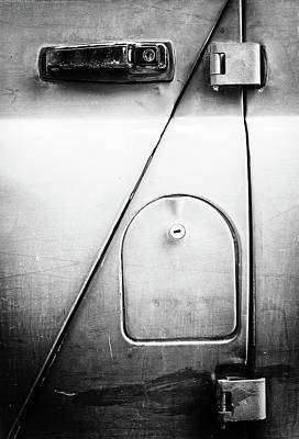 Photograph - Russian Door And Lock by John Williams