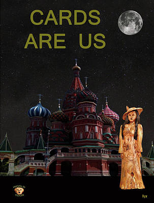 Moscow Mixed Media - Russian Fashion by Eric Kempson