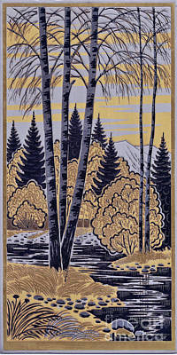 Brass Etching Photograph - Russian Forest Etching by Don Siebel