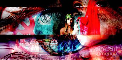Digital Art - Russian Girls by John Rizzuto