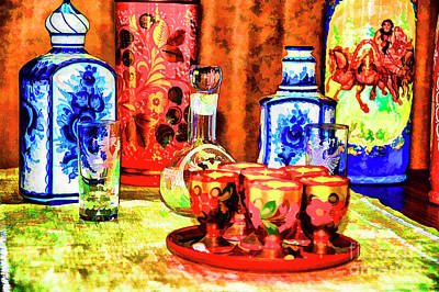 Photograph - Russian Glassware by Rick Bragan