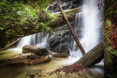 Photograph - Russian Gulch State Park Falls by Donnie Whitaker