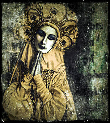 Digital Art - Russian Icon by Delight Worthyn