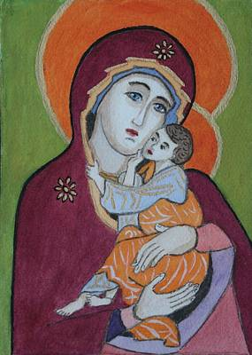 Painting - Russian Icon by Vera Smith