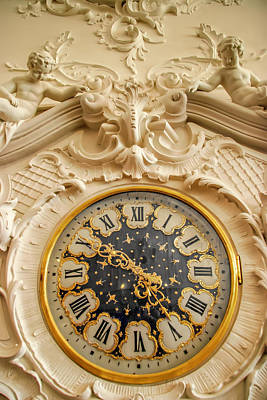 Photograph - Russian Imperial Clock by KG Thienemann