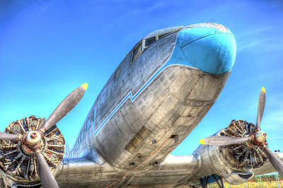 Photograph - Russian Lisunov Li-2 Aeroplane by David Pyatt