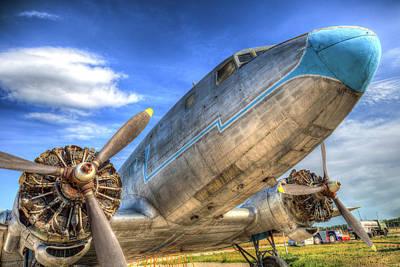 Photograph - Russian Lisunov Li-2 Aircraft by David Pyatt
